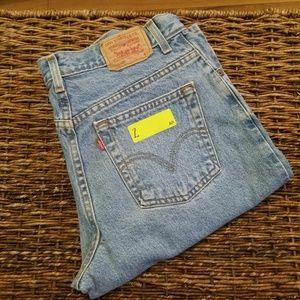 Vintage 550 Levi's High Waisted Mom Jeans
